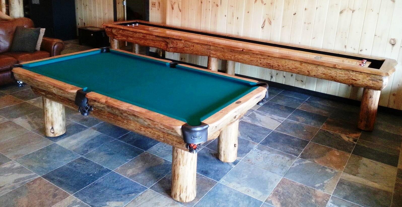 Ponderosa Pool Table Shuffle Combo Royal Billiard Recreation - Ponderosa pool table