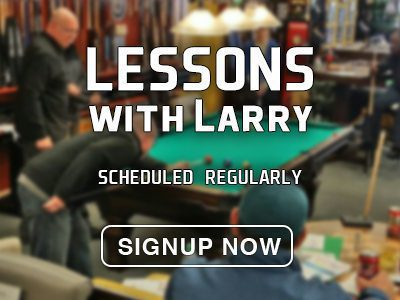 Take short pool lessons with pro Larry