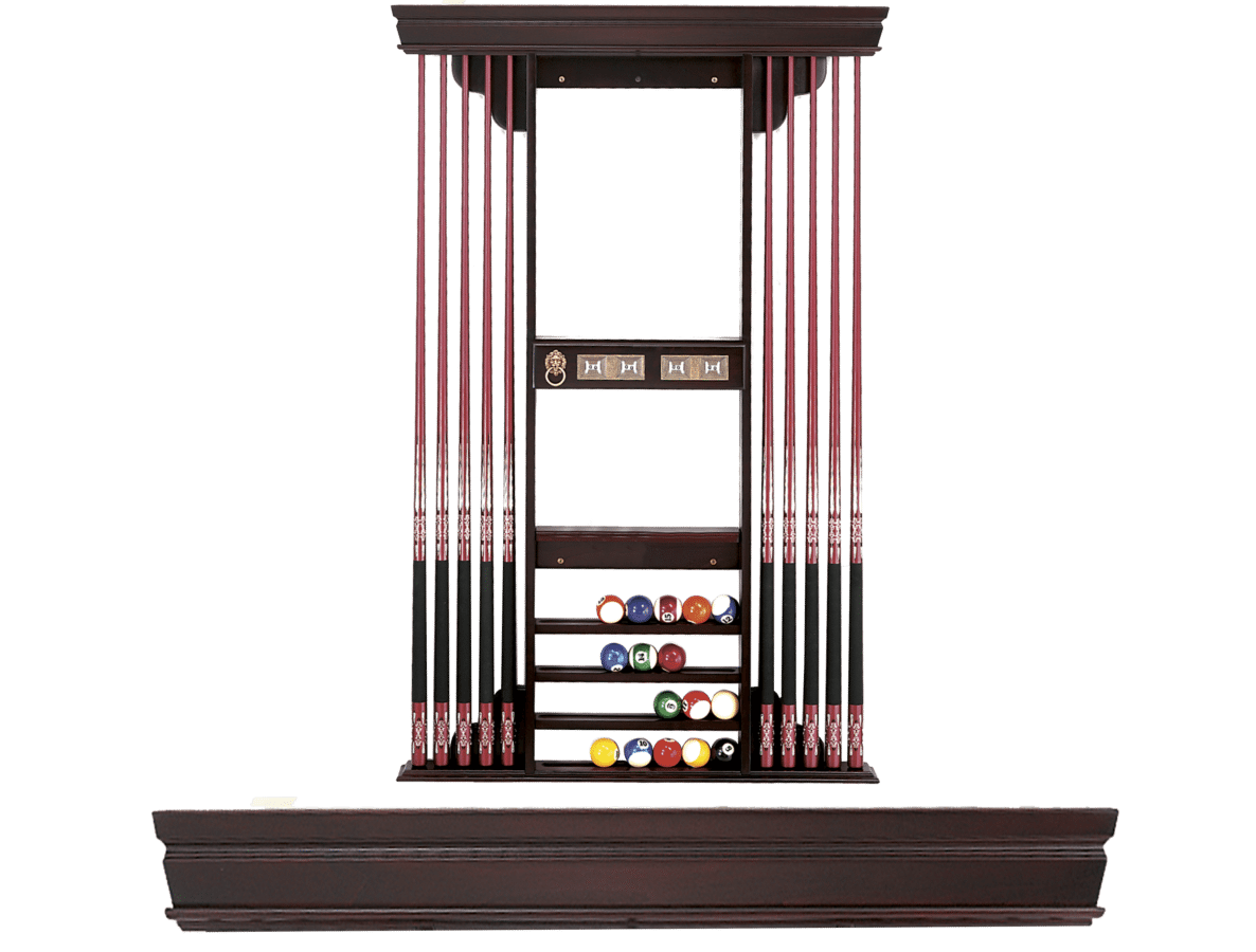 Augusta Deluxe Cue Rack by Olhausen