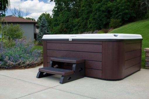 Side view of Nordic Stella Hot Tub