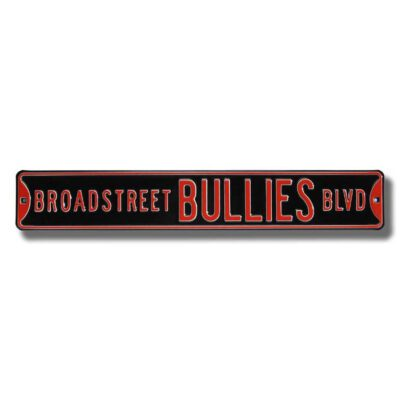 BROADSTREET BULLIES BLVD Sign
