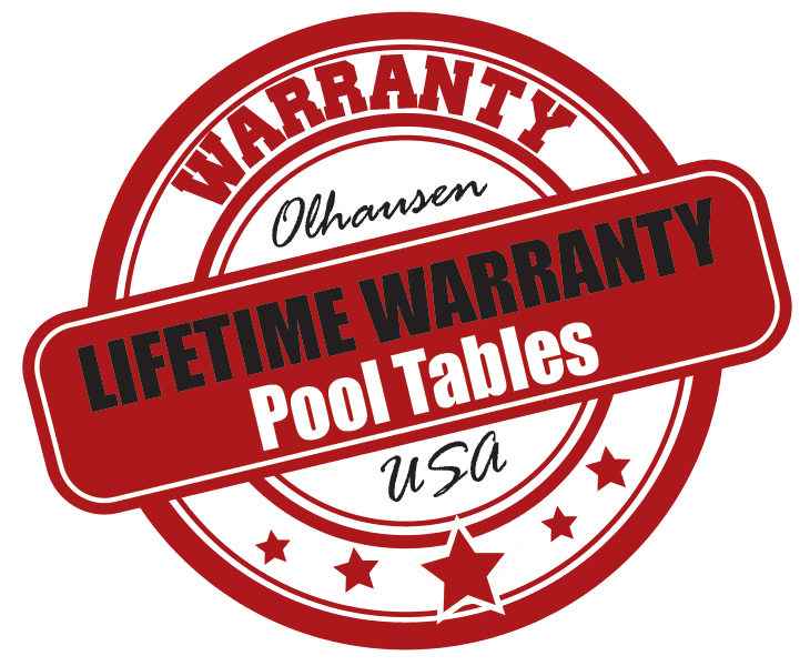 Olhausen Lifetime Warranty