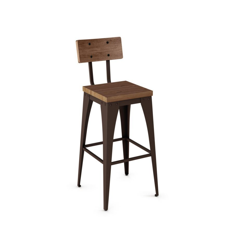 Upright non swivel stool royal billiard recreation for Kitchen swivel bar stools