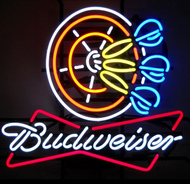 Budweiser Darts Sign Royal Billiard Amp Recreation