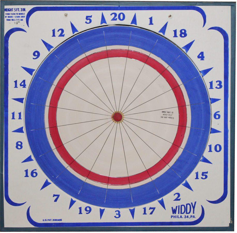 Widdy Paper Dart Board Royal Billiard Amp Recreation