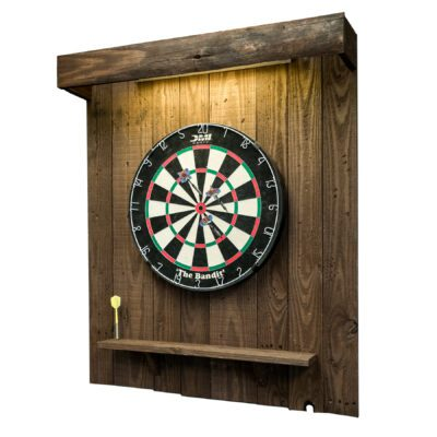 Dartboard Back with Light