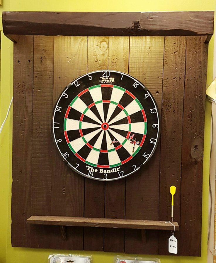 Lighted Dartboard Backboard Royal Billiard Amp Recreation