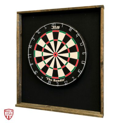 Cloth-Backed Dartboard Cabinet