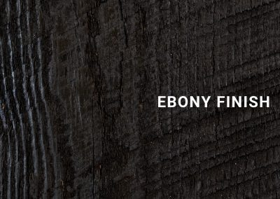 Ebony Finish