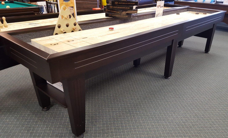 Contender Shuffleboard Table SOLD Royal Billiard Recreation - Contender pool table
