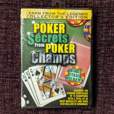 Poker Secrets from Poker Champs DVD