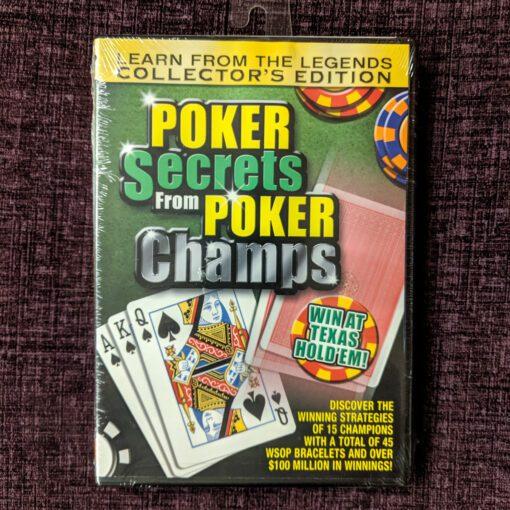 Poker Secrets from Poker Champs DVD