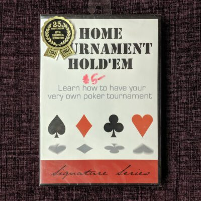 Home Tournament Hold 'Em DVD