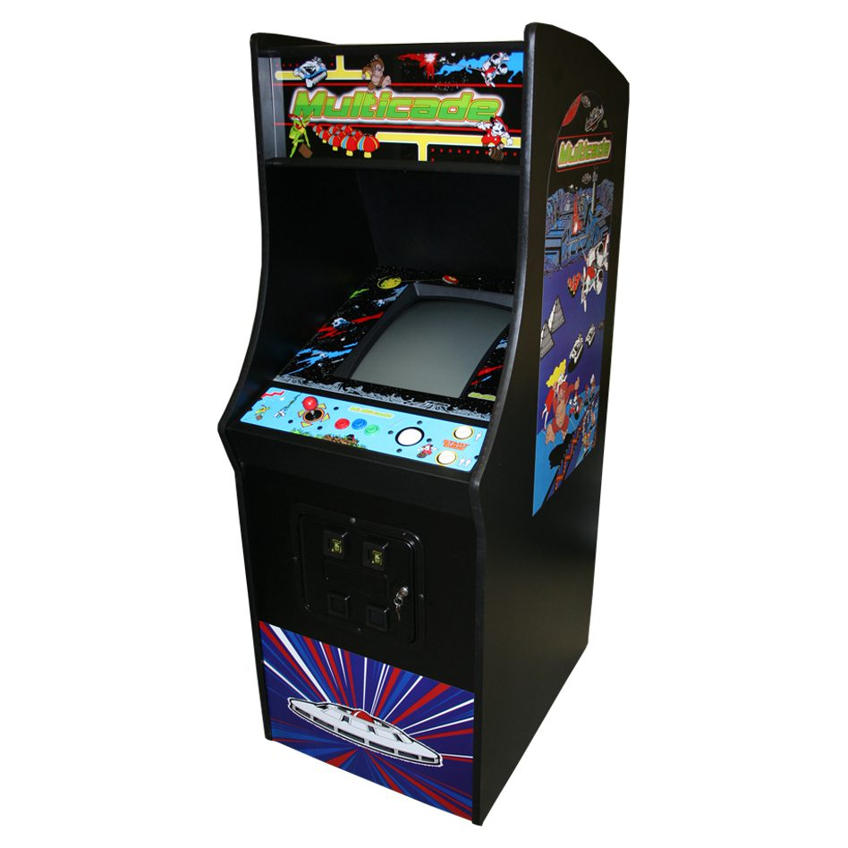 Stand Up Arcade with 60 Classic Games