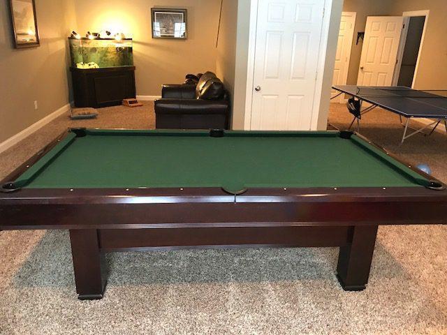 Brunswick Used Pool Tables >> 8 Gently Used Pool Table Brunswick