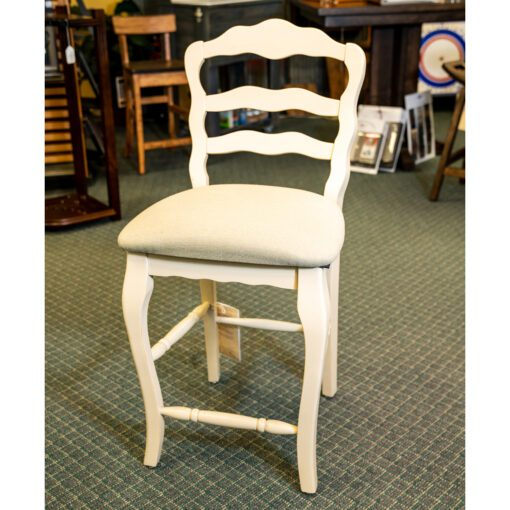 Discounted white stool