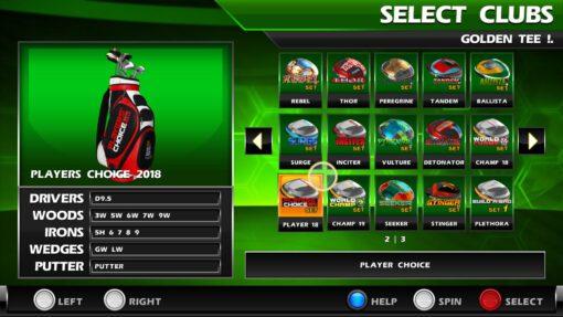 Golden Tee Home Edition Screenshot