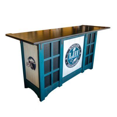 NFL Eagles Custom Bar