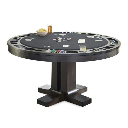 Reversible top dining/game table
