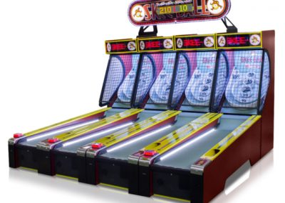 Classic skee-ball multiple
