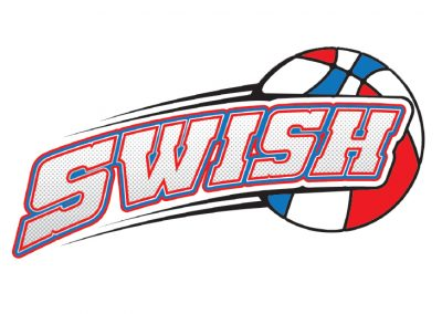 Swish Kid Basketball Logo