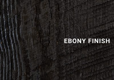 Finish-Ebony