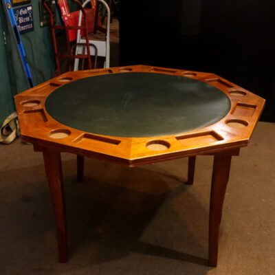 Used Folding leg poker table