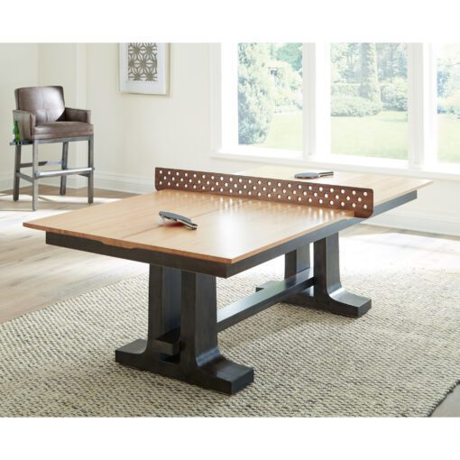 Convertible Ping Pong to Dining Set
