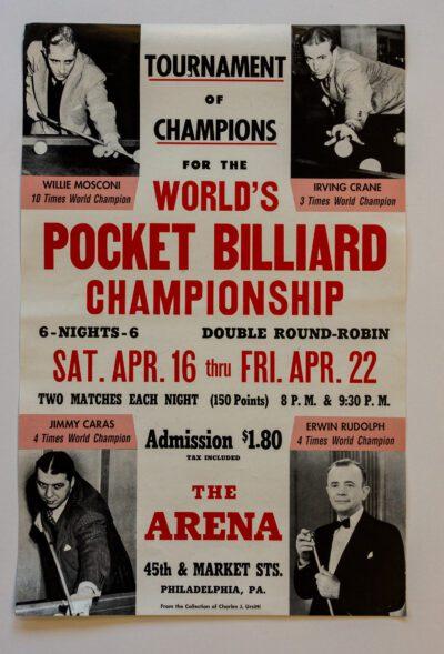 Pocket Billiard Championship poster
