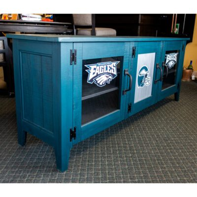 Philadelphia Eagles TV Cabinet