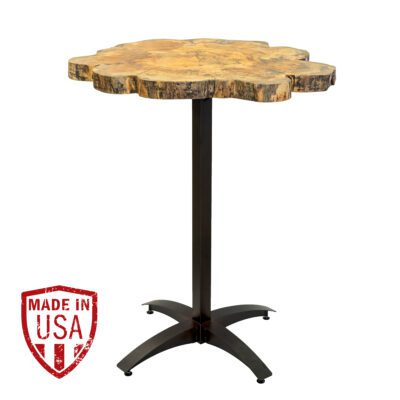 Live Edge Maple Pub Table
