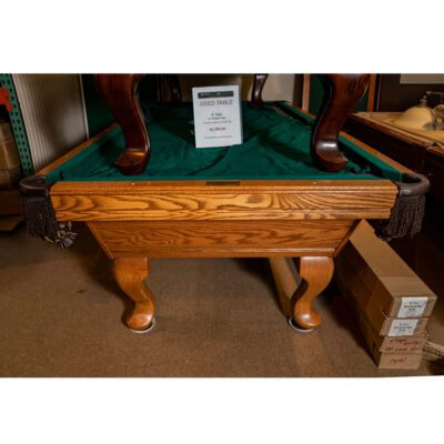 Used Olhausen Pool Table