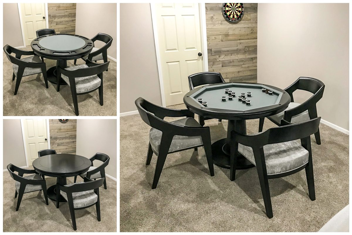 3–in–1 - Glen Ellen Game Table by California House