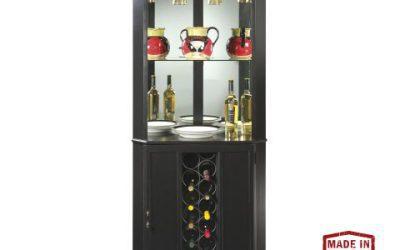 Piedmont II Corner Wine & Bar Cabinet