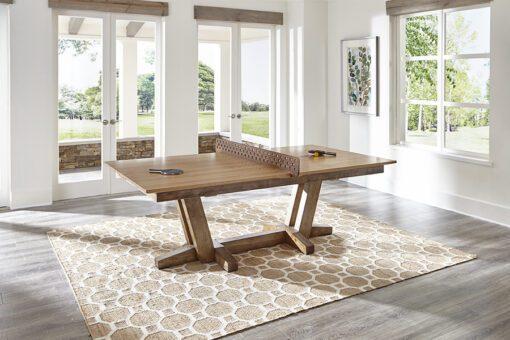 Petaluma Ping Pong by California House - Table Tennis Setup