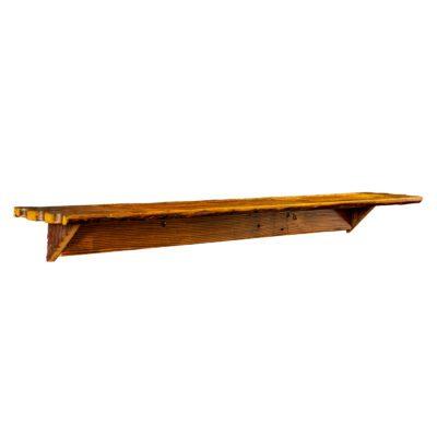 Reclaimed Barn Wood Wall Bar