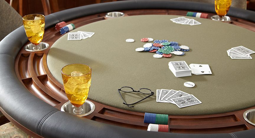Professional poker Table Detail