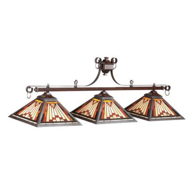 "LAREDO 54"" (3) SHADE BILLIARD LIGHT"