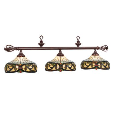 "HARMONY 60"" (3) SHADE BILLIARD LIGHT"
