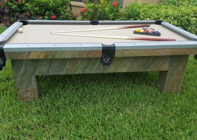 Artisan Outdoor Pool Table 01