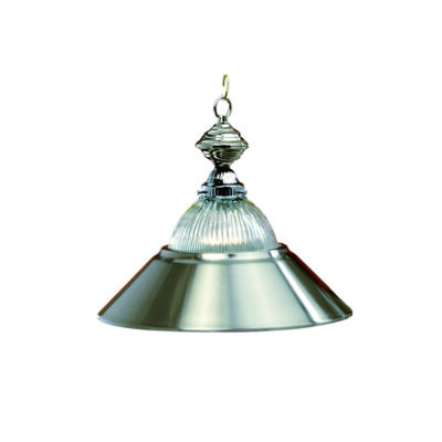 "14"" PENDANT LIGHT - STAINLESS STEEL"