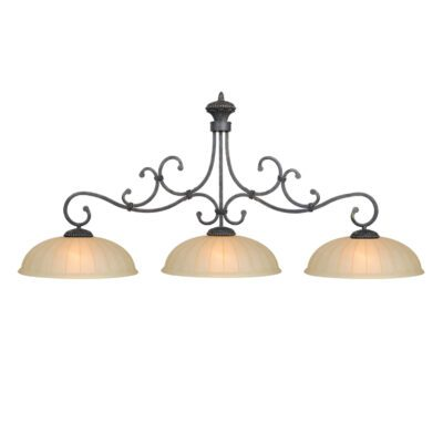 "BARCELONA 3 SHADE 60"" BILLIARD LIGHT"