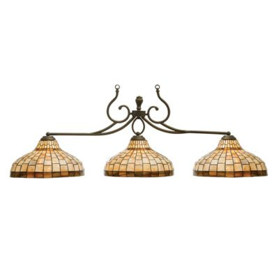 "CAROLINA 3 SHADE 58"" BILLIARD LIGHT"