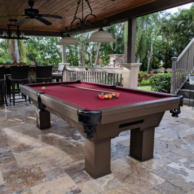Caesar Outdoor Pool Table
