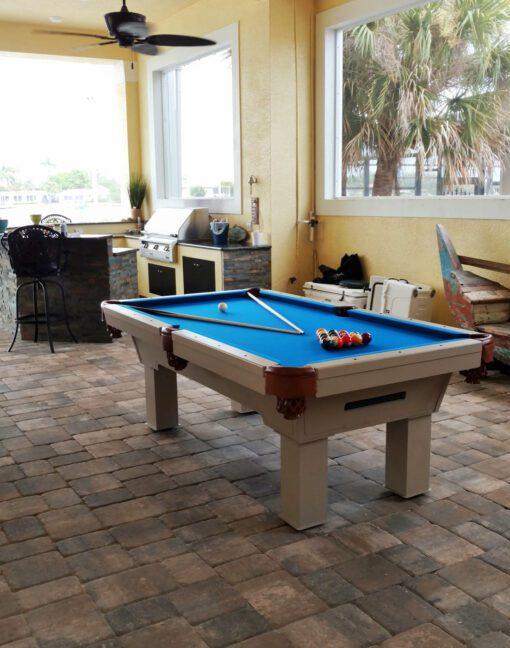 Caesar Outdoor Pool Table
