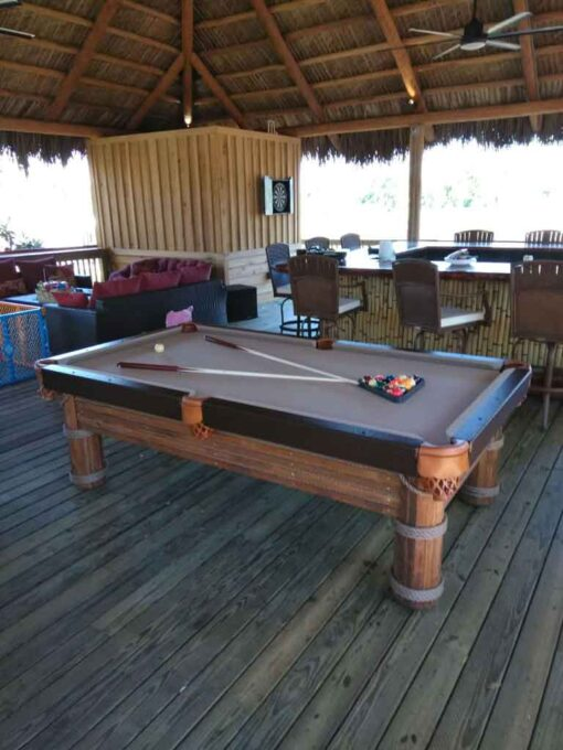 Caribbean Outdoor Pool Table