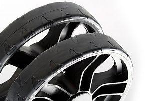 Cornilleau 700 M Wheel Detail