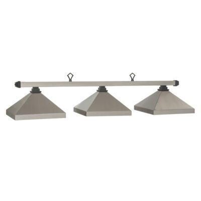 "KITSILANO 3 SHADE 54"" BILLIARD LIGHT - PEWTER"