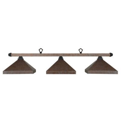 "KITSILANO 3 SHADE 54"" BILLIARD LIGHT - SAND & MATTE BLACK"
