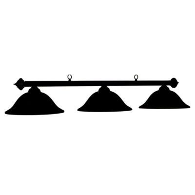 "MARSEILLES 60"" BILLIARD LIGHT - PAINTED BLACK"